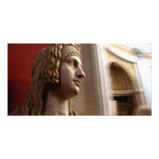 Statue Picture Card
