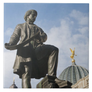 Statue with Glass dome on Kunstverein building Tile