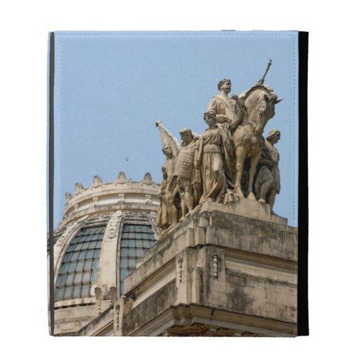 Statues on Tiradentes iPad Folio Covers