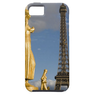 statues with the Eiffel Tower in background, Case For The iPhone 5