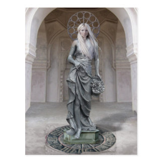 Statuesque Postcard
