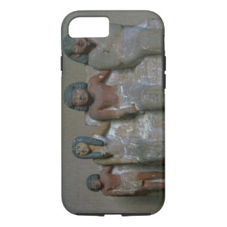 Statuette of a family group (pigment on chalk) iPhone 8/7 case