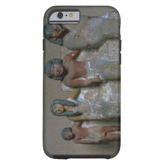 Statuette of a family group (pigment on chalk) tough iPhone 6 case