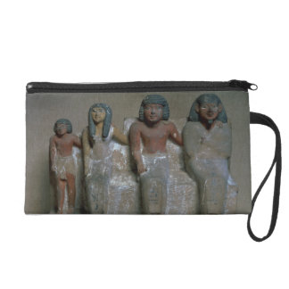 Statuette of a family group (pigment on chalk) wristlet