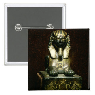 Statuette of a sphinx of King Tuthmosis III, New K 15 Cm Square Badge