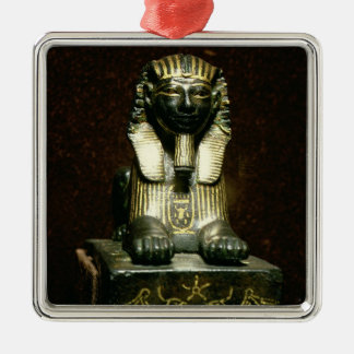 Statuette of a sphinx of King Tuthmosis III, New K Christmas Ornament