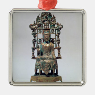 Statuette of Buddha in meditation, Tang Christmas Ornament