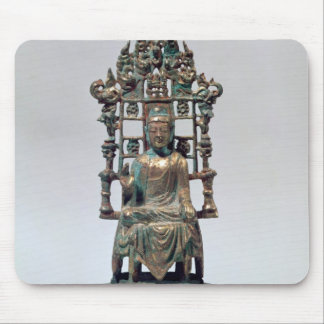 Statuette of Buddha in meditation, Tang Mouse Mat