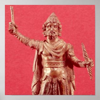 Statuette of Jupiter Dolichenus Posters