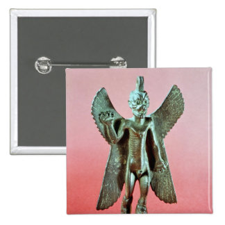 Statuette of Pazuzu, an Assyrian wind demon 15 Cm Square Badge