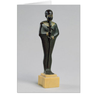 Statuette of the god Ptah Card