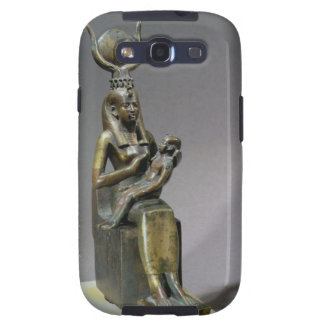 Statuette of the goddess Isis and the child Horus Samsung Galaxy SIII Cases