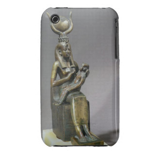 Statuette of the goddess Isis and the child Horus Case-Mate iPhone 3 Cases