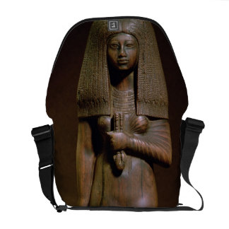 Statuette of the Tuya, head of the harem of Min, N Courier Bag