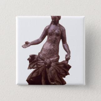 Statuette of Venus, late 1st or 2nd century AD 15 Cm Square Badge
