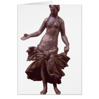 Statuette of Venus, late 1st or 2nd century AD Greeting Card