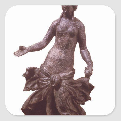 Statuette of Venus, late 1st or 2nd century AD Square Sticker