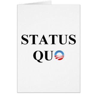 STATUS QUO GREETING CARD