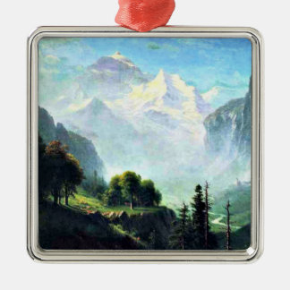 Staubbach Falls near Lauterbrunnen, Switzerland Christmas Ornament