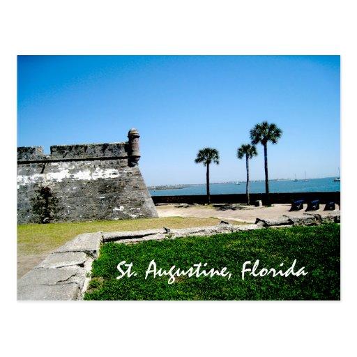 Staugustinefort, St. Augustine, Florida Postcards