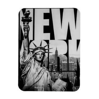 Staute of Liberty Vintage Magnet