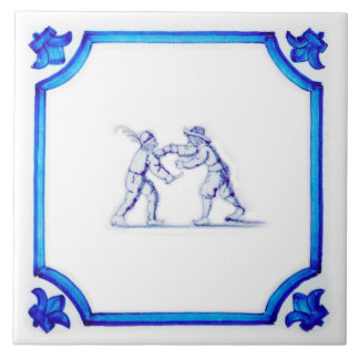 Stavast Bekkesnijder Dutch Blue Tile