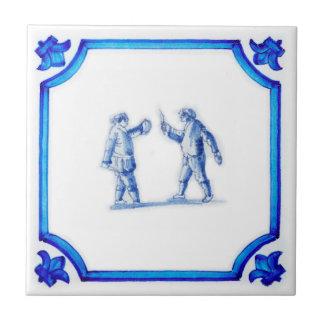Stavast Bekkesnijder Dutch Blue Tile