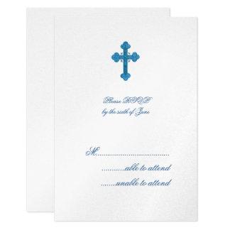 Stavro RSVP 9 Cm X 13 Cm Invitation Card