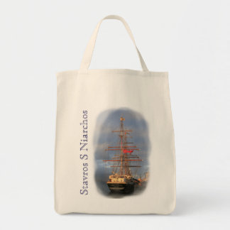 Stavros S Niarchos Grocery Tote Bag