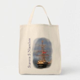 Stavros S Niarchos Grocery Tote Bag