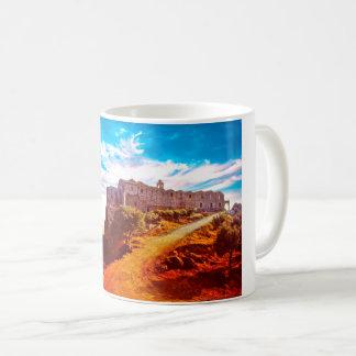 Stavrovouni Monastery Cyprus Coffee Mug