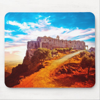 Stavrovouni Monastery Cyprus Mouse Mat