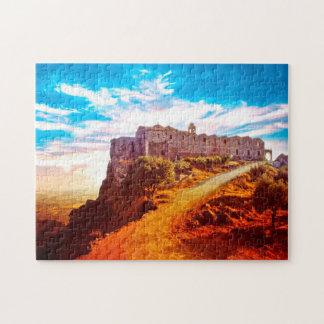 Stavrovouni Monastery Cyprus Puzzle