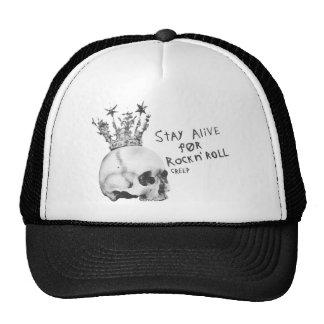 Stay Alive For Rock n' Roll Trucker Hats