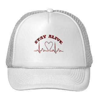 STAY ALIVE- HATS