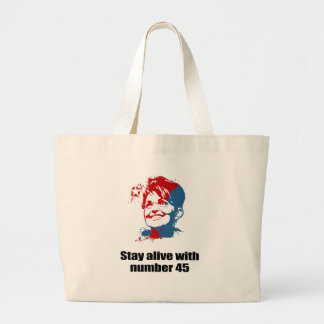 Stay alive with number 45 bag