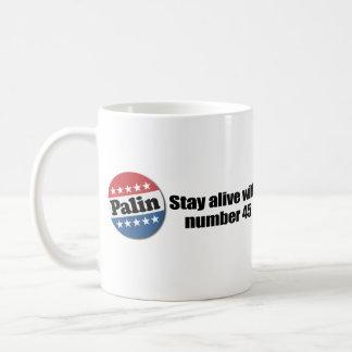 Stay alive with number 45 coffee mug