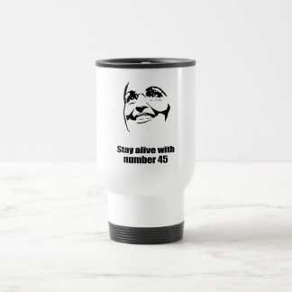 Stay alive with number 45 mug