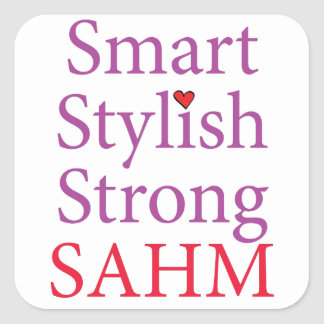 Stay At Home Mom - SAHM Stickers