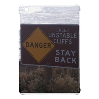 stay away from the cliffs iPad mini cover