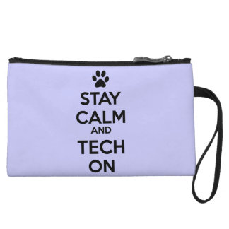 stay calm clutch light purple wristlet clutches