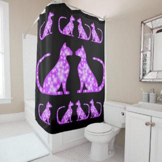 Stay Cat CrystalKatz Custom Shower Curtains