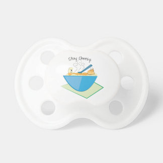 Stay Cheesy Baby Pacifier