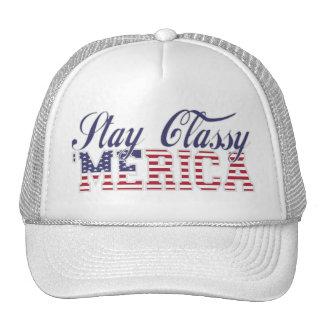 Stay Classy 'MERICA Cap