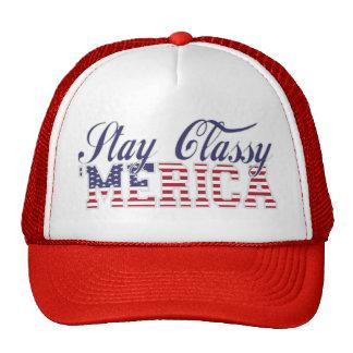 Stay Classy 'MERICA Mesh Hat