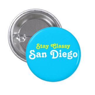 Stay Classy San Diego 3 Cm Round Badge