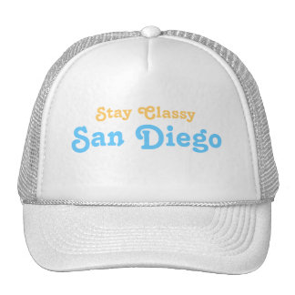 Stay Classy San Diego Cap