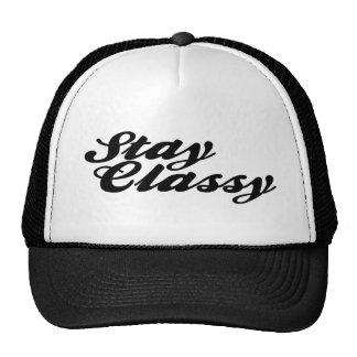 Stay Classy Vintage Hat