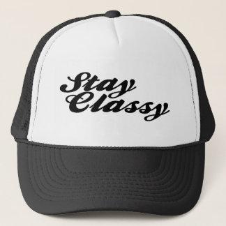 Stay Classy Vintage Trucker Hat