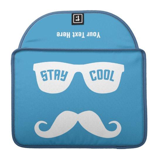 STAY COOL custom MacBook sleeve